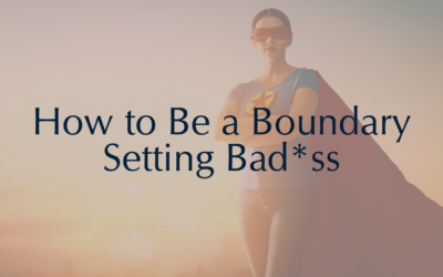 How to Set Boundaries and Stop People-Pleasing